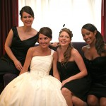 Tracy Leaman and bridal party