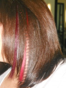 PURE Striped, Radical Color  and Feather Hair Extensions @ By Subairi
