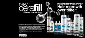 New CERAFILL by Redken, your hair thinning solution, now @ BY SUBAIRI