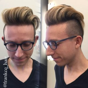 Photos of clients highlighted, cut and styled by Frank @By Subairi