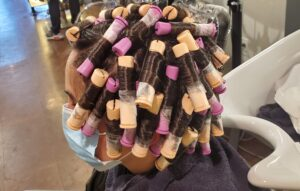 Update your look with a spiral perm!  Carefree hair and low maintenance curls!