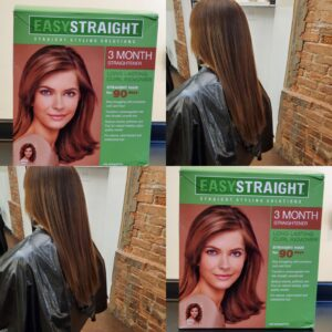 Defrizz your hair with a straight perm @ By Subairi